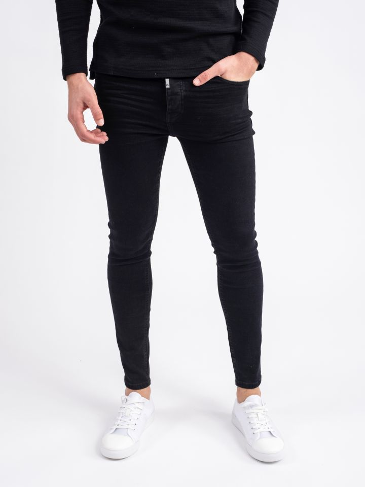ג`ינס סופר סקיני -מומלץ להזמין מידה יותר