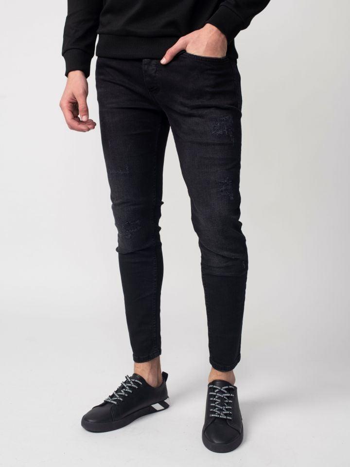 ג`ינס סופר סקיני שחור