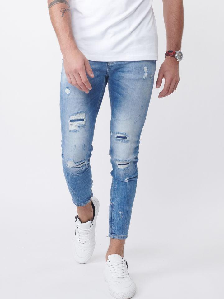 ג`ינס קרעים