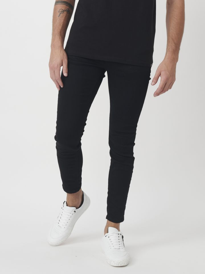 ג`ינס סקיני שחור
