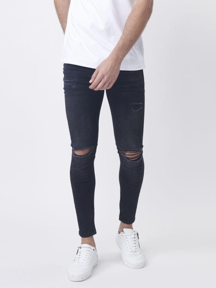 ג'ינס עם קרעים אטומים