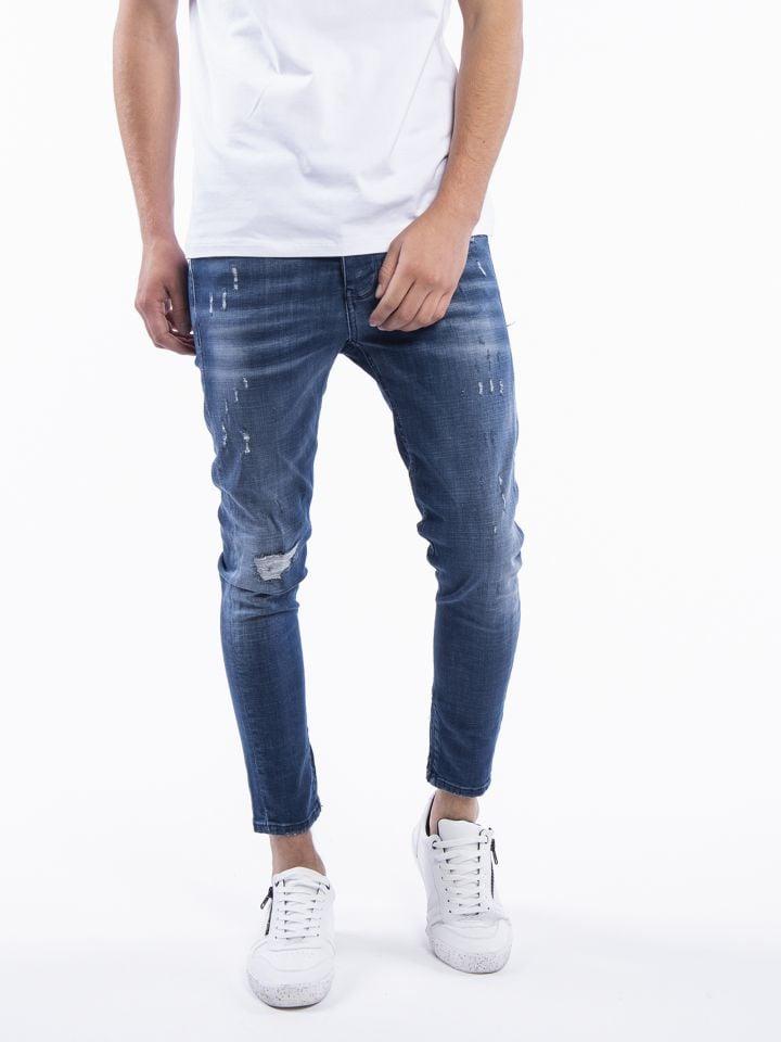 ג`ינס במראה משופשף