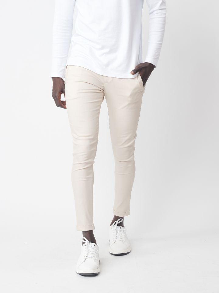 מכנס סופר סקיני עם כיסים אופנתיים